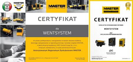 Części eksploatacyjne do nagrzewnic Master BV 290 - kod 4519.005