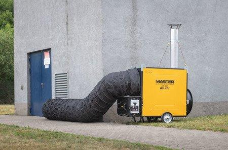 Giętkie przewody czarne + torba 7,6 m, 610 mm Master do BV 471, 4515.362