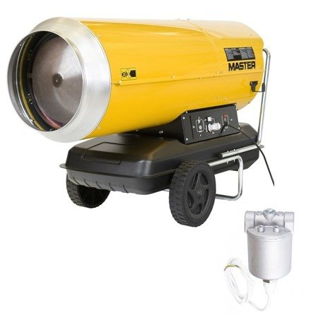 Nagrzewnica olejowa Master B 230 + podgrzewacz paliwa