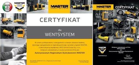 Nagrzewnica olejowa Master BV 77 E + giętkie przewody 4515.360 + zestaw podłączeniowy