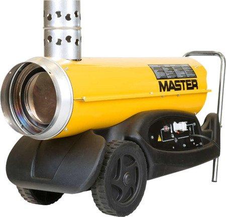 Nagrzewnica olejowa Master BV 77 E + giętkie przewody 4515.553 + zestaw podłączeniowy